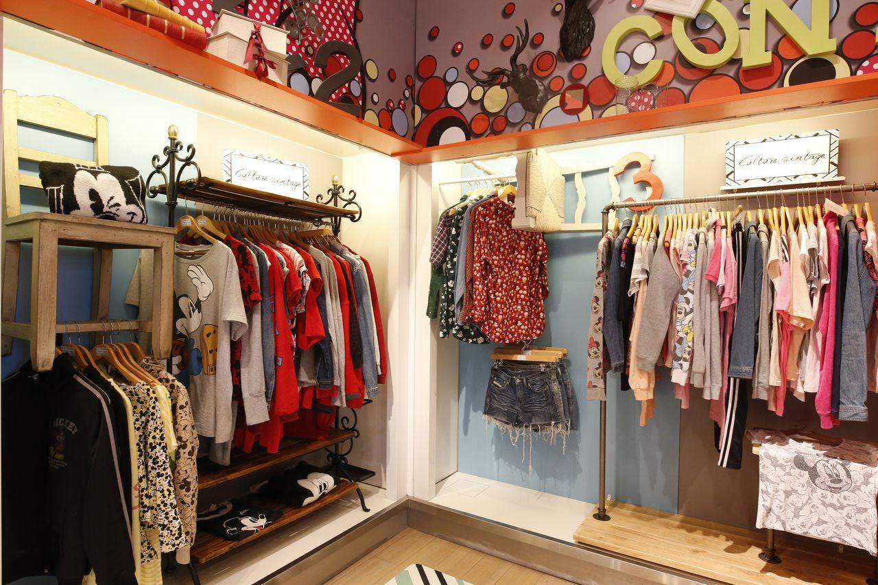 ligne 'culture vintage' à disney fashion à disneyland paris