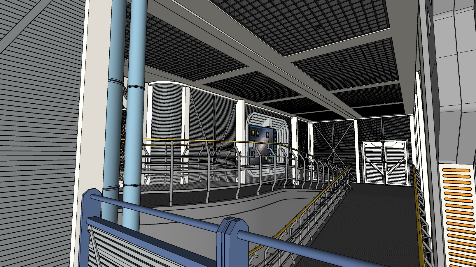star tours sketchup 2