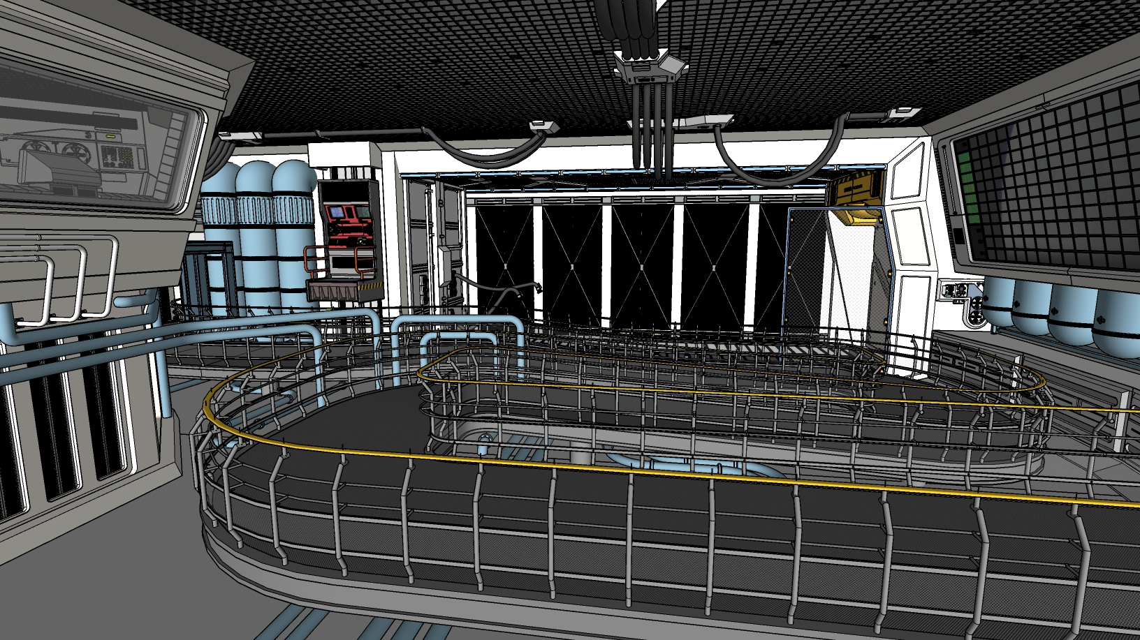 star tours sketchup 3
