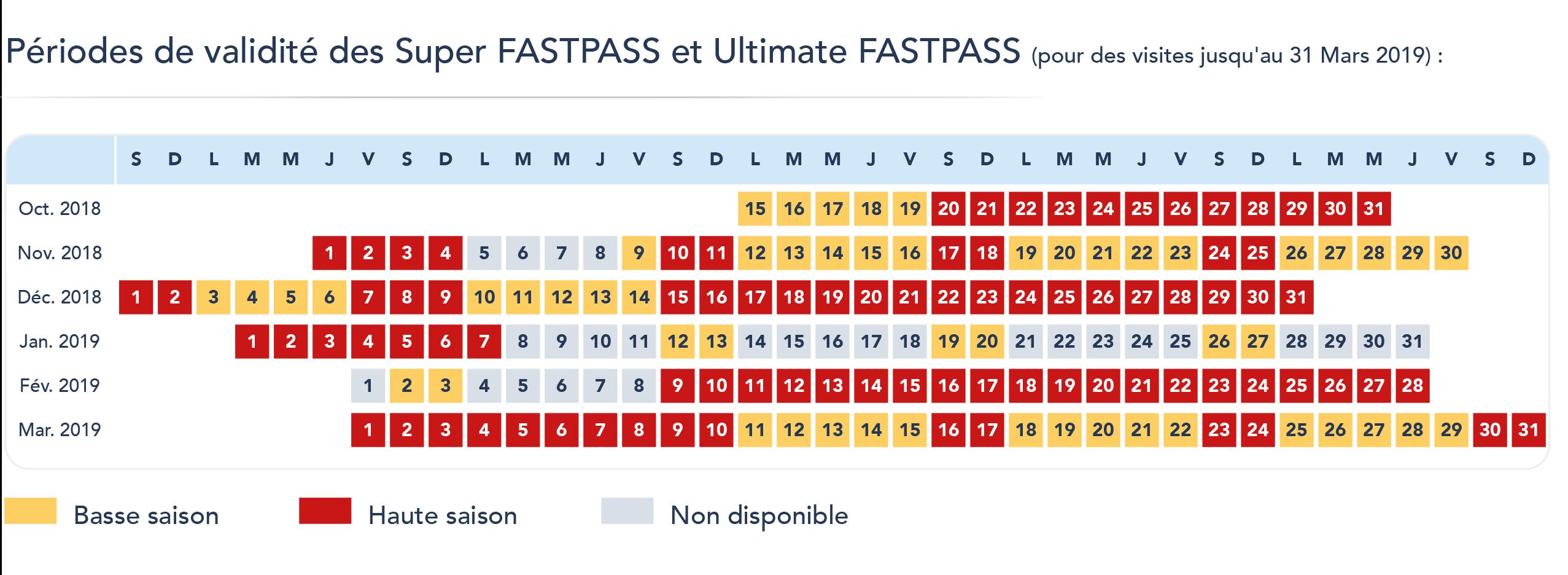 Calendrier Pass Disney.Decouvrez Les Nouveaux Fastpass De Disneyland Paris