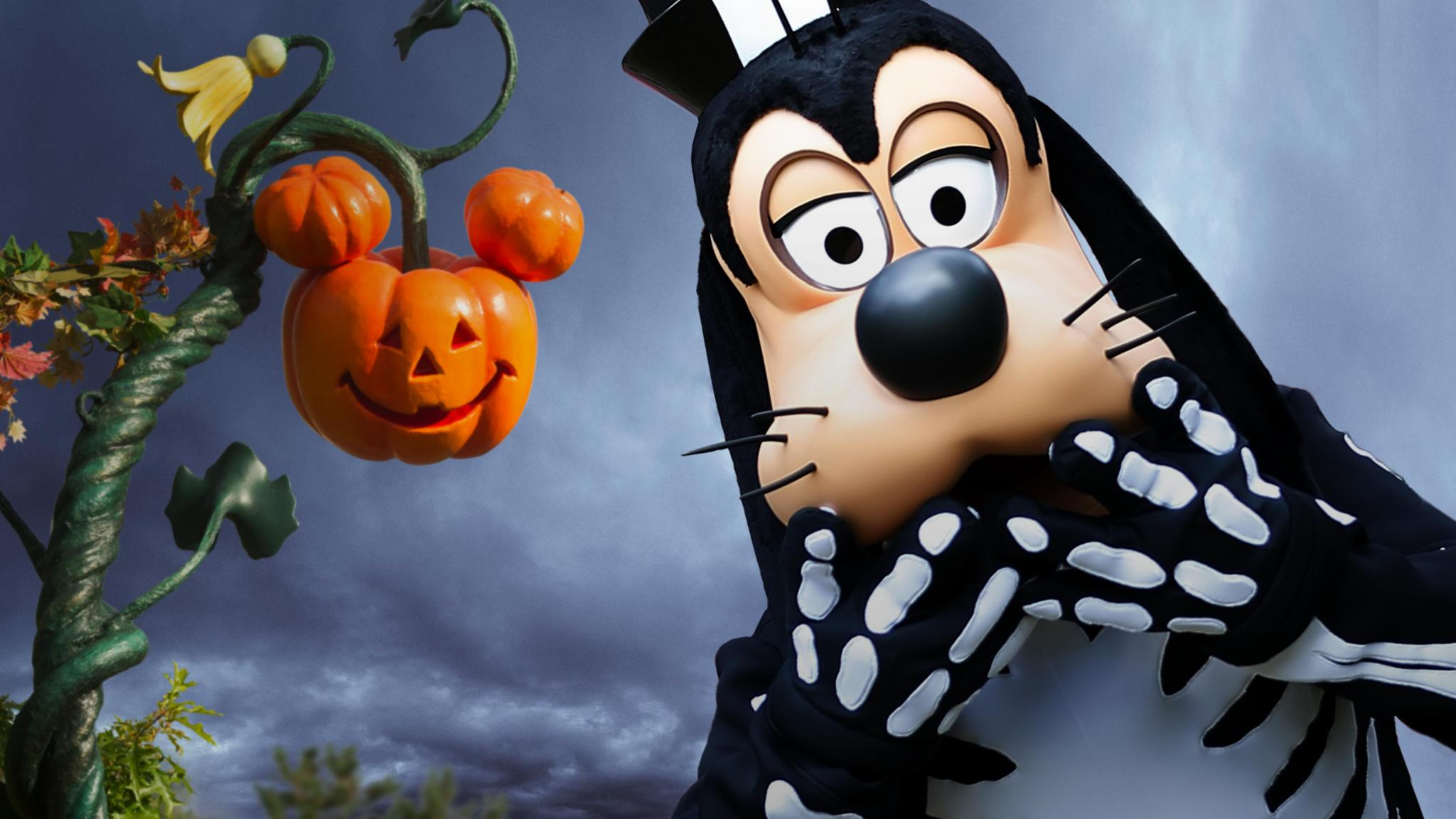 Halloween et la skeletoons party de dingo disneyland paris - Image de halloween ...