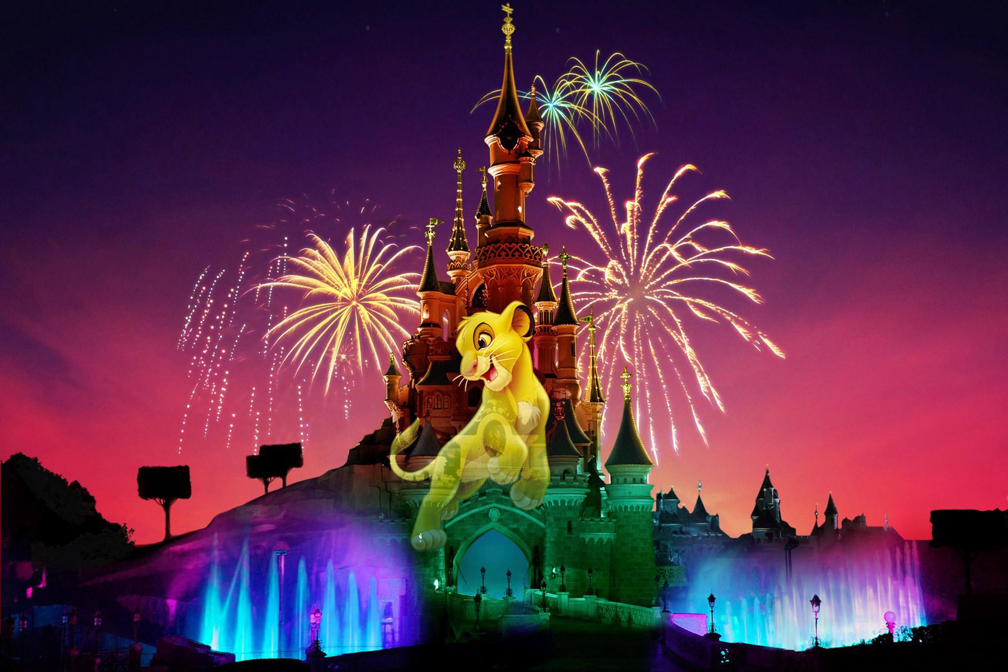 Nouveau spectacle disney illuminations pour les 25ans du parc - Illumination paris 2014 ...