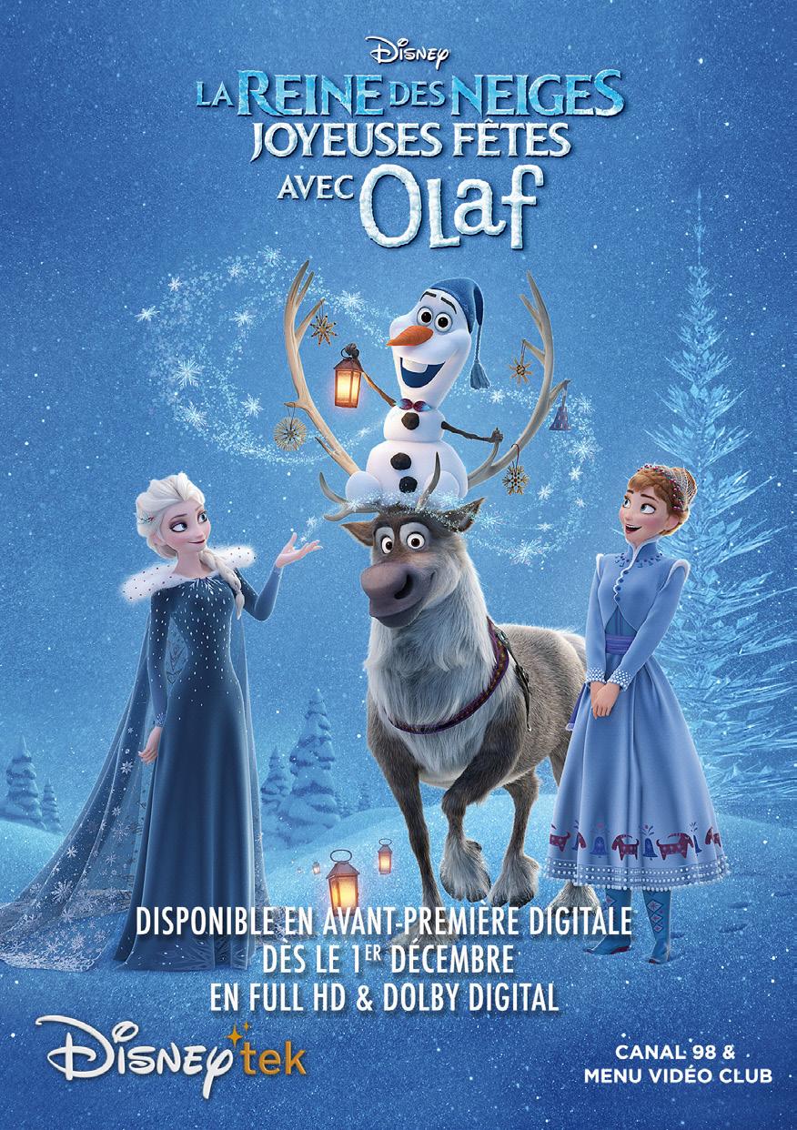 Joyeuses fêtes avec Olaf affiche