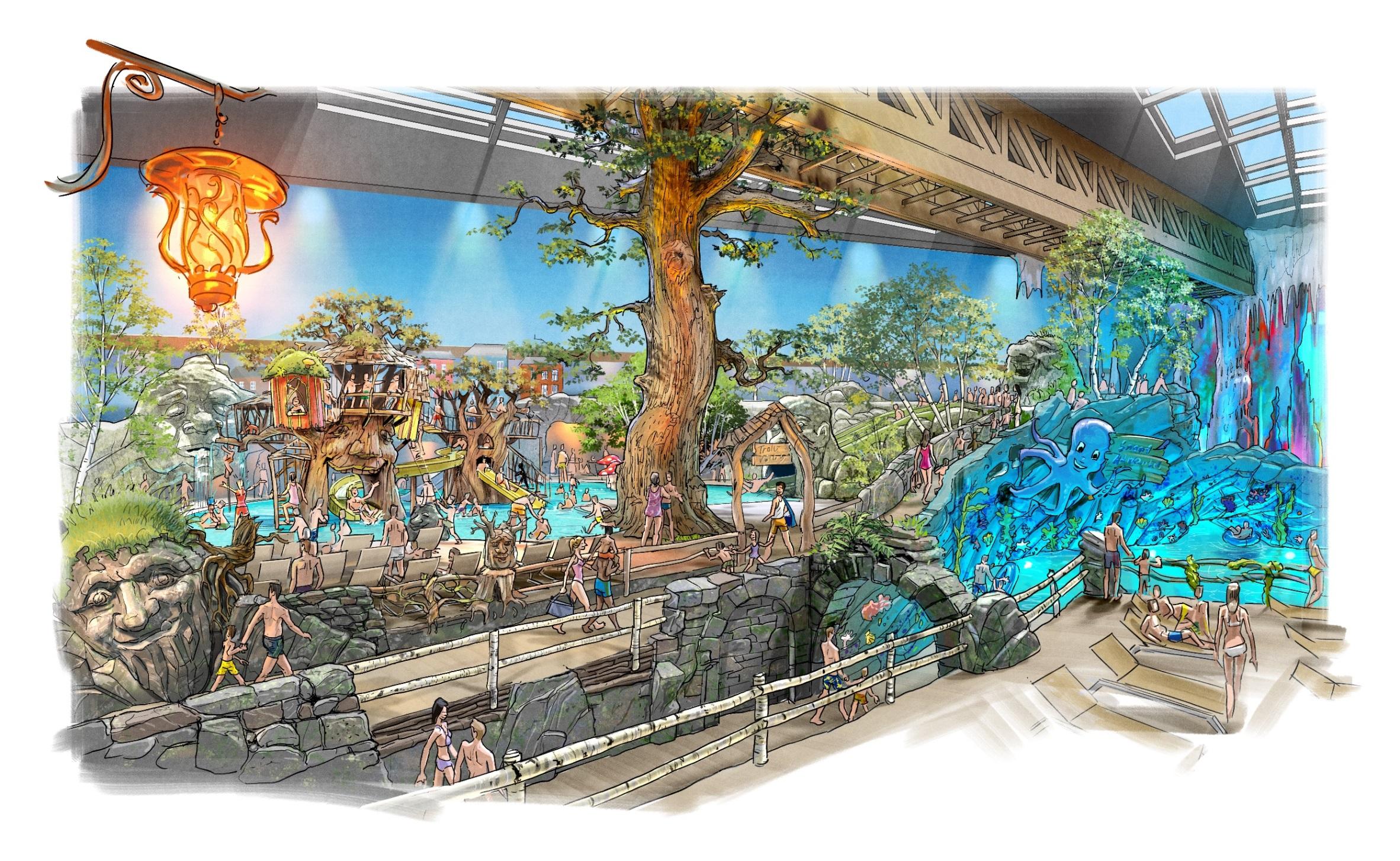 Nouveauté 2019 : Rulantica le parc aquatique d'Europa-Park