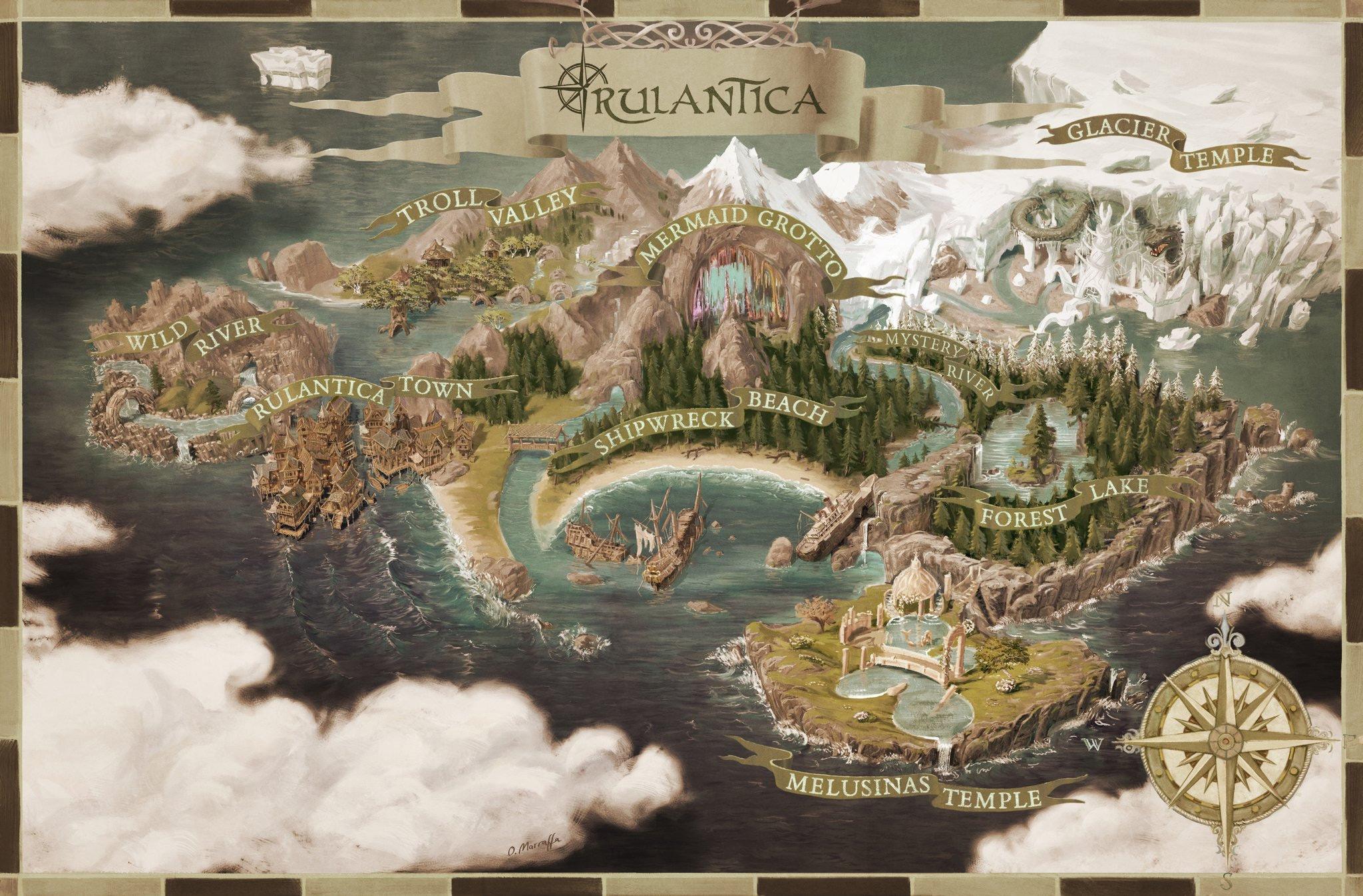 Europa Park Karte.Nouveaute 2019 Rulantica Le Parc Aquatique D Europa Park