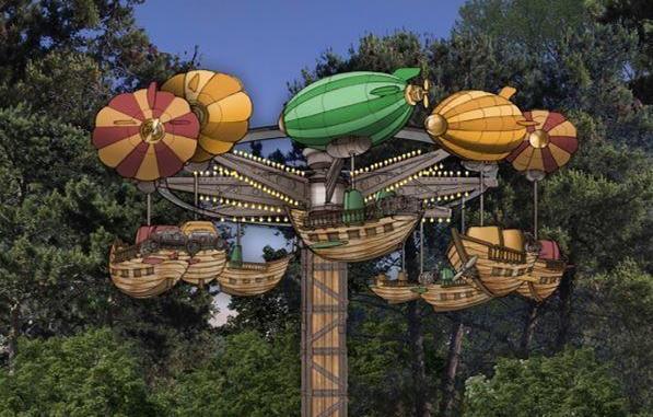 Le Nouveau Parc D Attraction Du Jardin D Acclimatation Pre