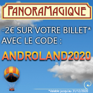 panoramagique promo Androland